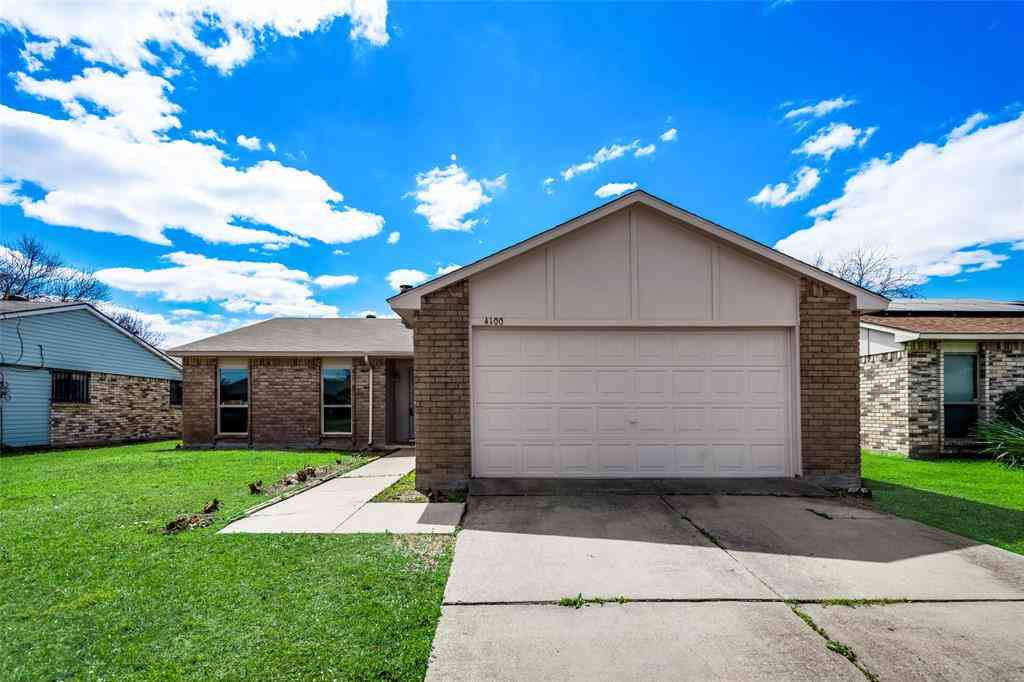 4100 Manzinita Street, Fort Worth, TX, 76137,