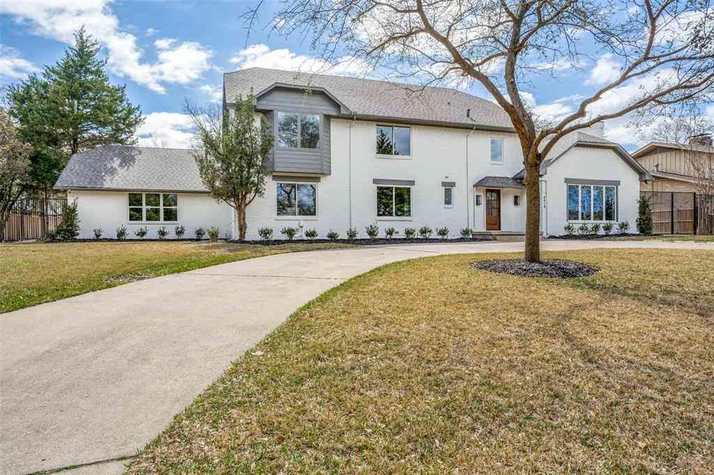 6818 Cliffbrook Drive, Dallas, TX, 75254,