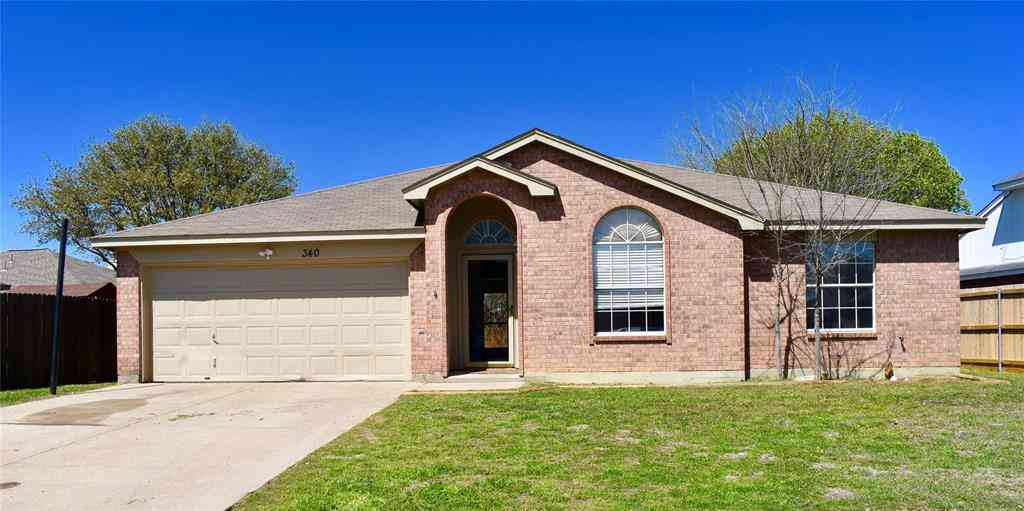 340 Shea Lane, Saginaw, TX, 76179,