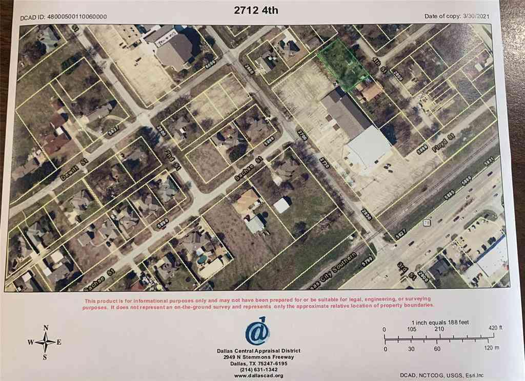2712 4th Street, Sachse, TX, 75048,