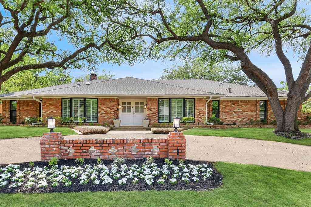 4315 Mill Creek Road, Dallas, TX, 75244,