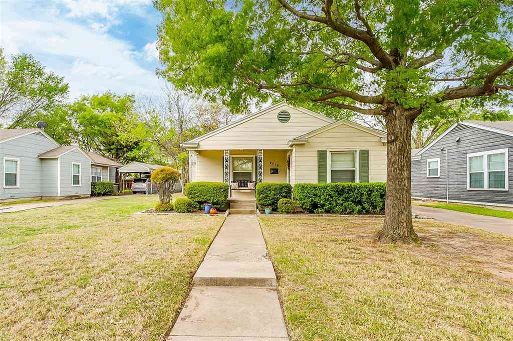 4016 Boyd Avenue, Fort Worth, TX, 76109,