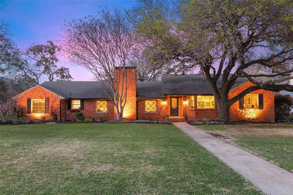 4823 Allencrest Lane, Dallas, TX, 75244,
