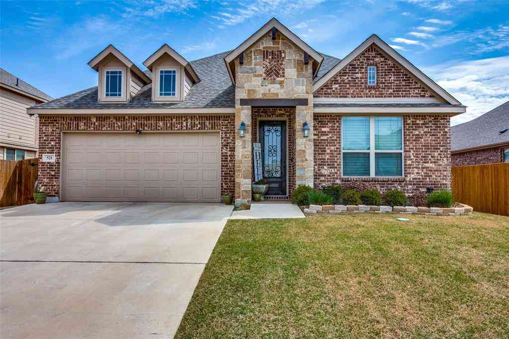 521 Anthony Street, Crowley, TX, 76036,