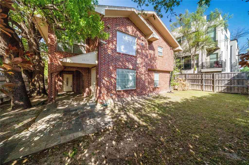 4624 Cedar Springs Road, Dallas, TX, 75219,