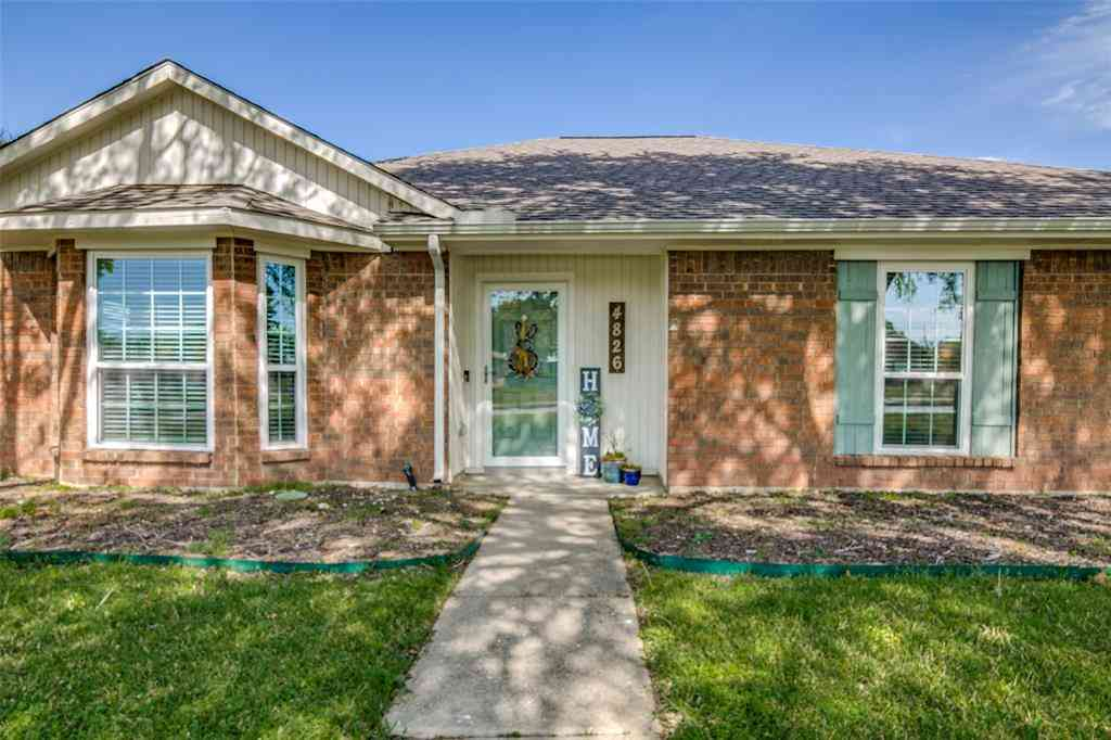 4826 Orchard Drive, Sachse, TX, 75048,