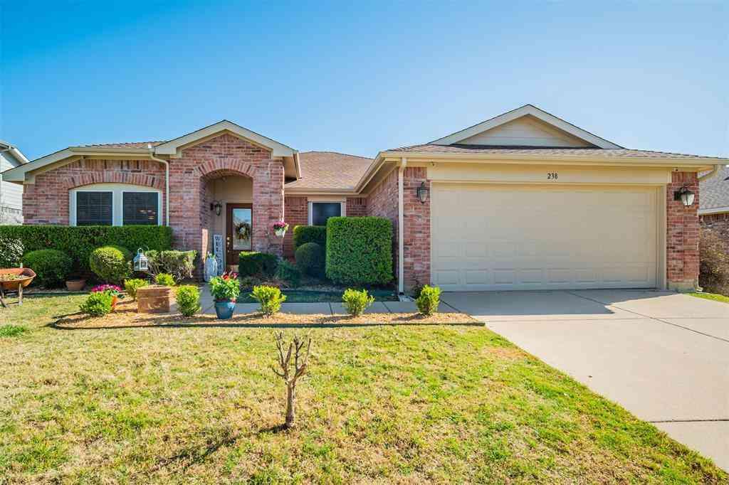 238 Hilltop Drive, Justin, TX, 76247,