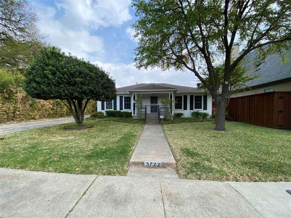 3722 Fairfax Avenue, Dallas, TX, 75209,
