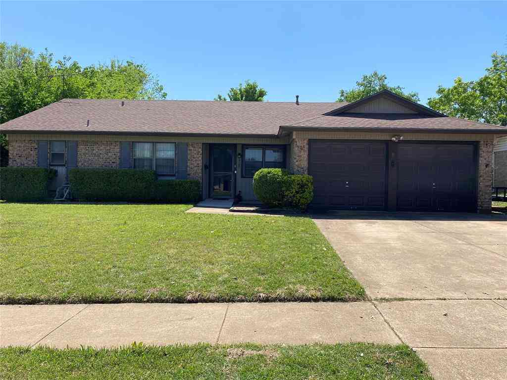 520 E Bovell Street, Crowley, TX, 76036,