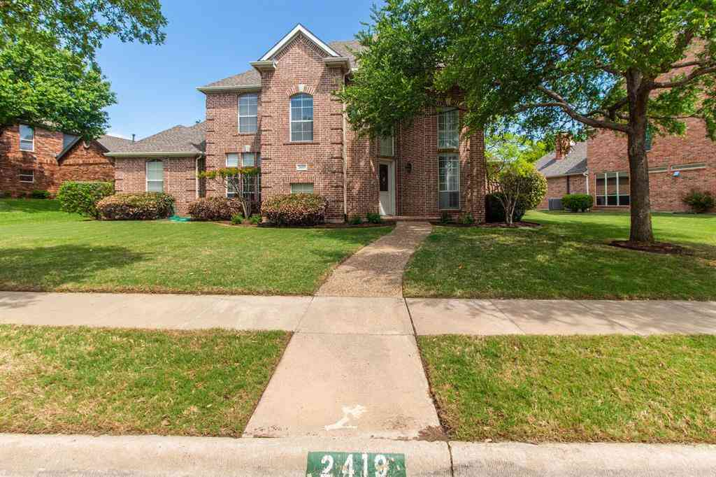 2419 Creekside Circle S, Irving, TX, 75063,