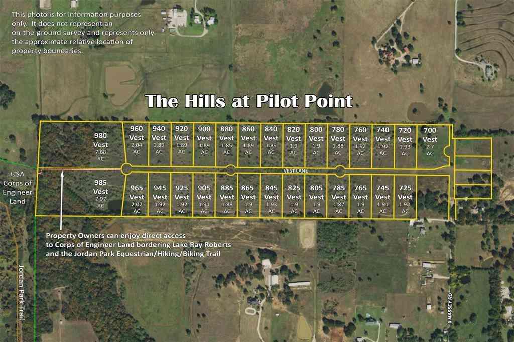 700 Vest Lane, Pilot Point, TX, 76258,
