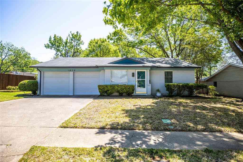 1820 Larkspur Drive, Arlington, TX, 76013,