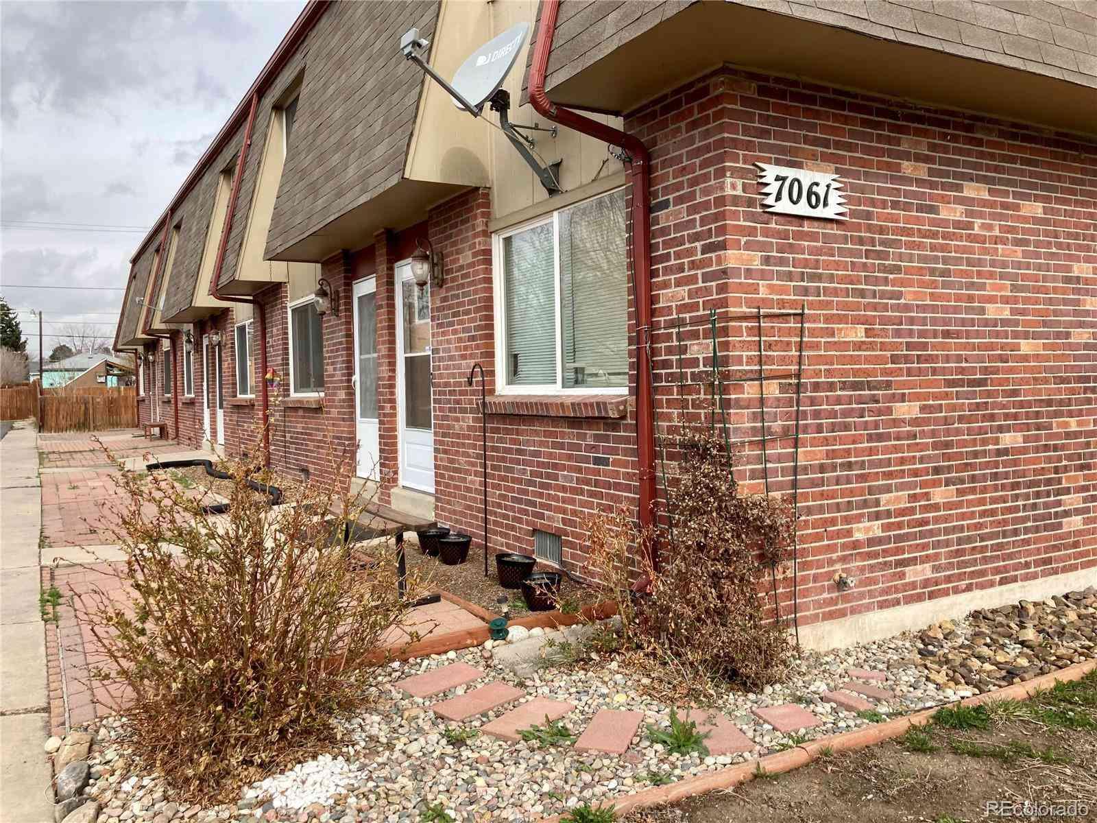 7061 Utica Street #2, Westminster, CO, 80030,