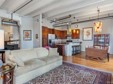 Sunny Living Room, 1800 Lawrence Street #309, Denver, CO, 80202,