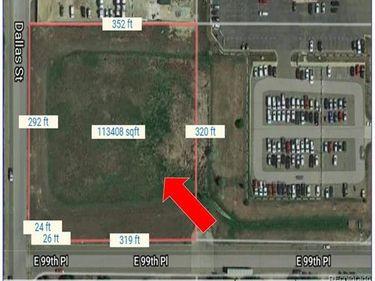 Corner of 99th Pl and Dallas St, Commerce City, CO, 80640,