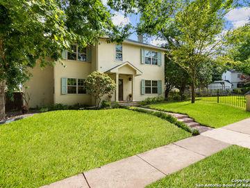 312 BLUE BONNET BLVD, Alamo Heights, TX, 78209,