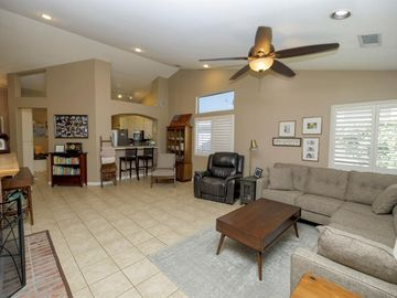 Sunny Living Room, 2320 Mission Street, Escalon, CA, 95320,