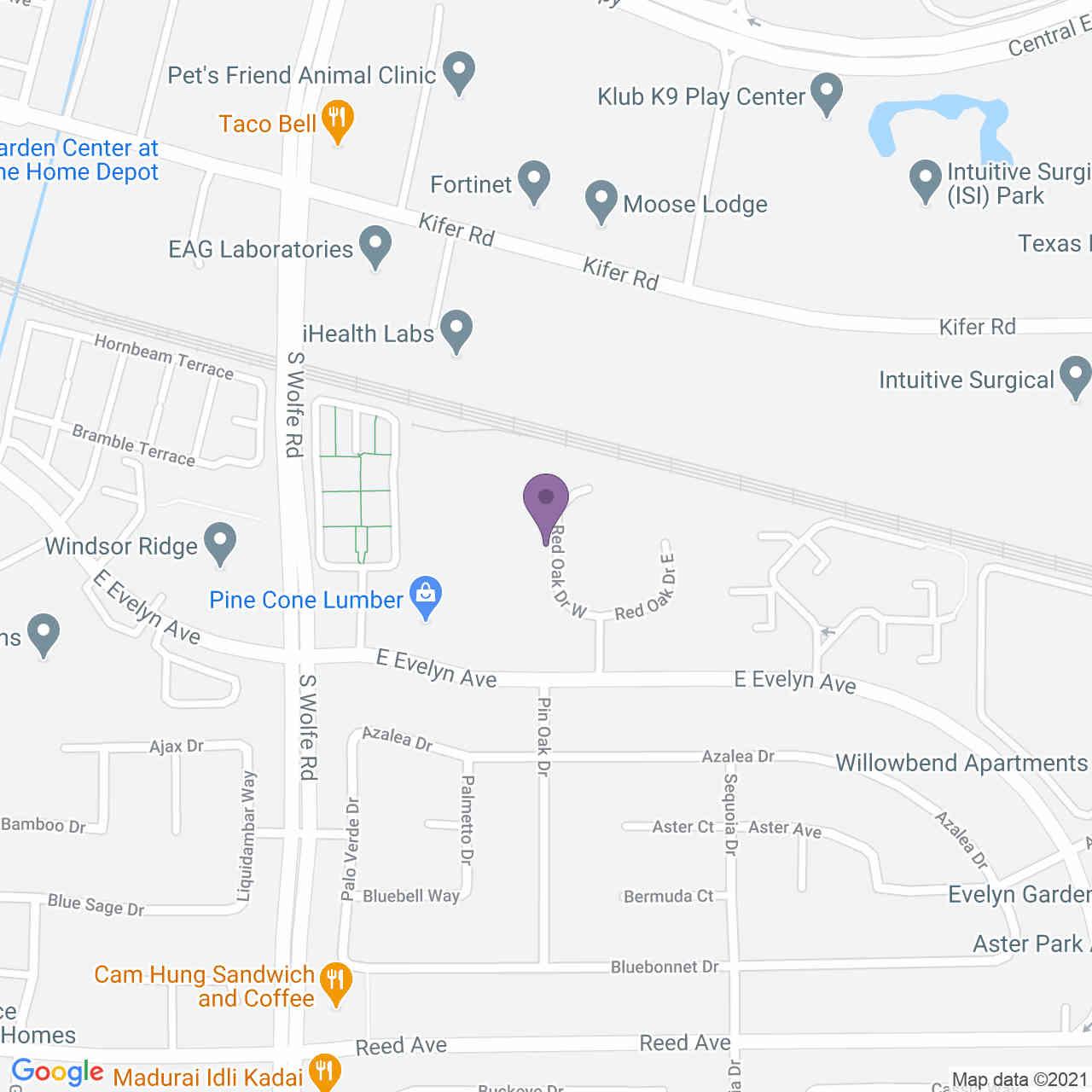 None Red Oak Drive #B, Sunnyvale, CA, 94086,