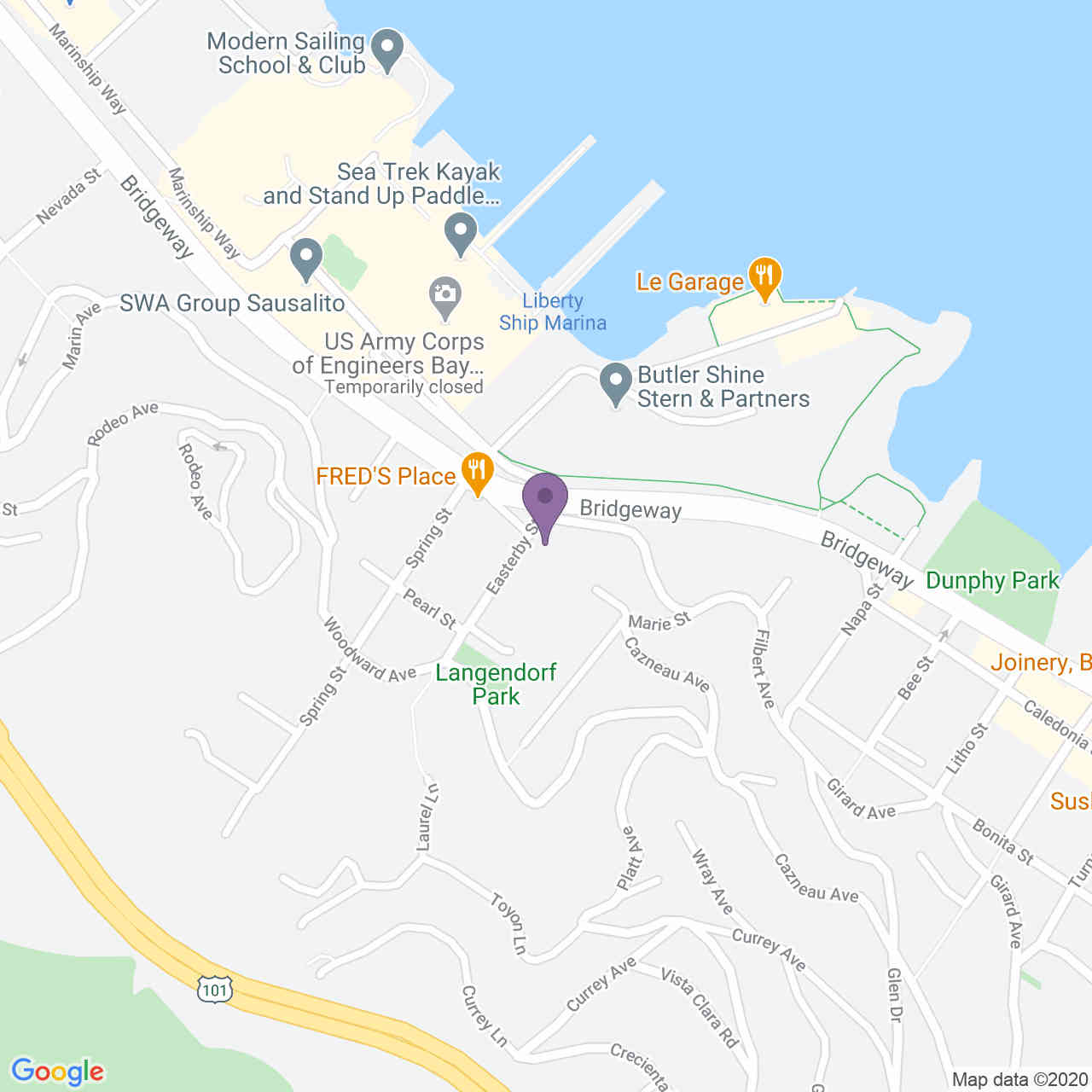 507 Easterby Street, Sausalito, CA, 94965,