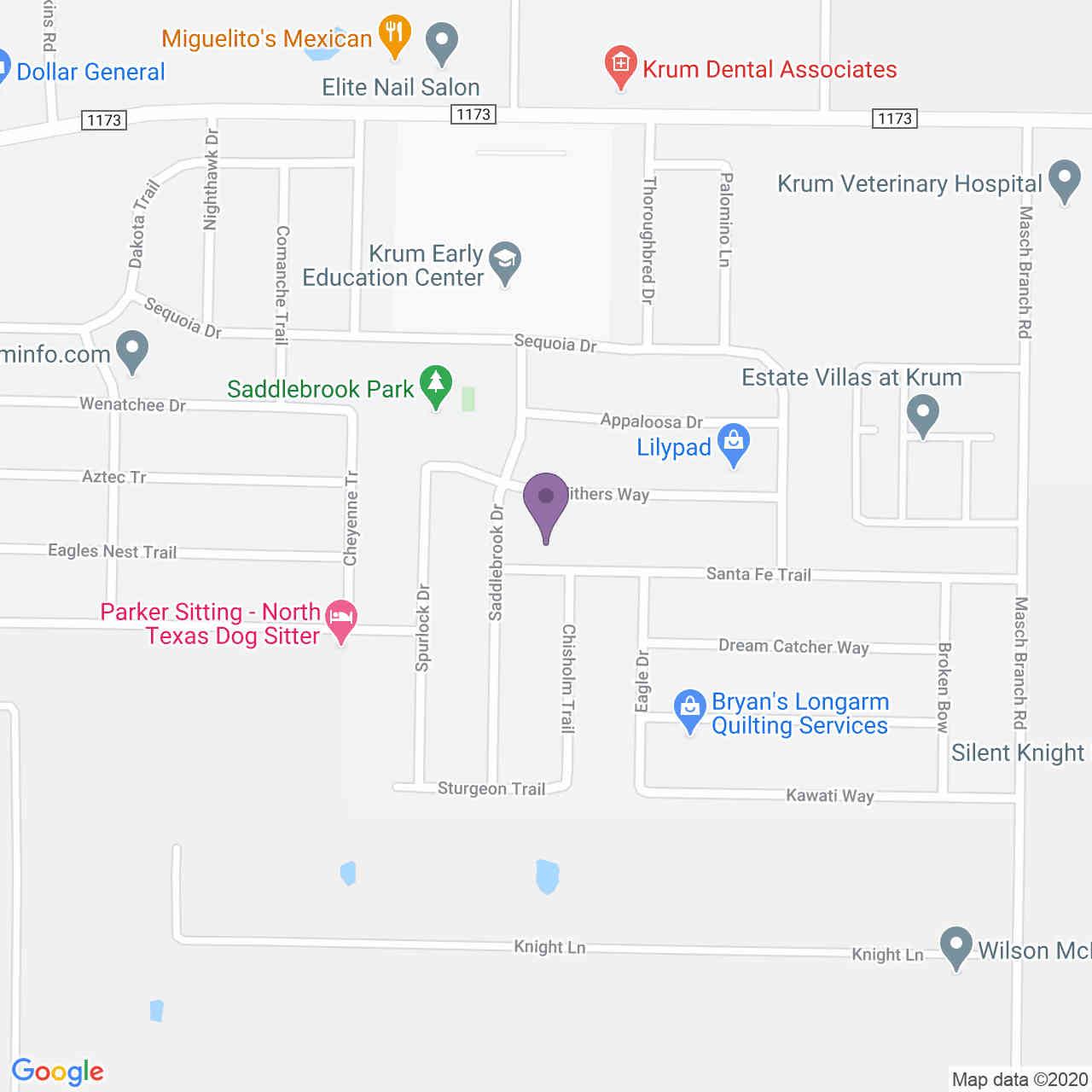 1605 Santa Fe Trail, Krum, TX, 76249,
