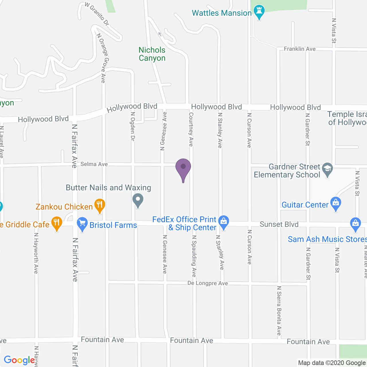 1539 Courtney Avenue, Los Angeles, CA, 90046,