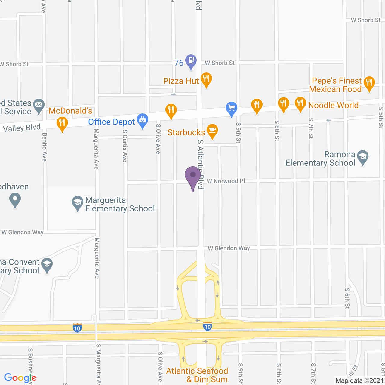 1605 S Atlantic Boulevard, Alhambra, CA, 91803,
