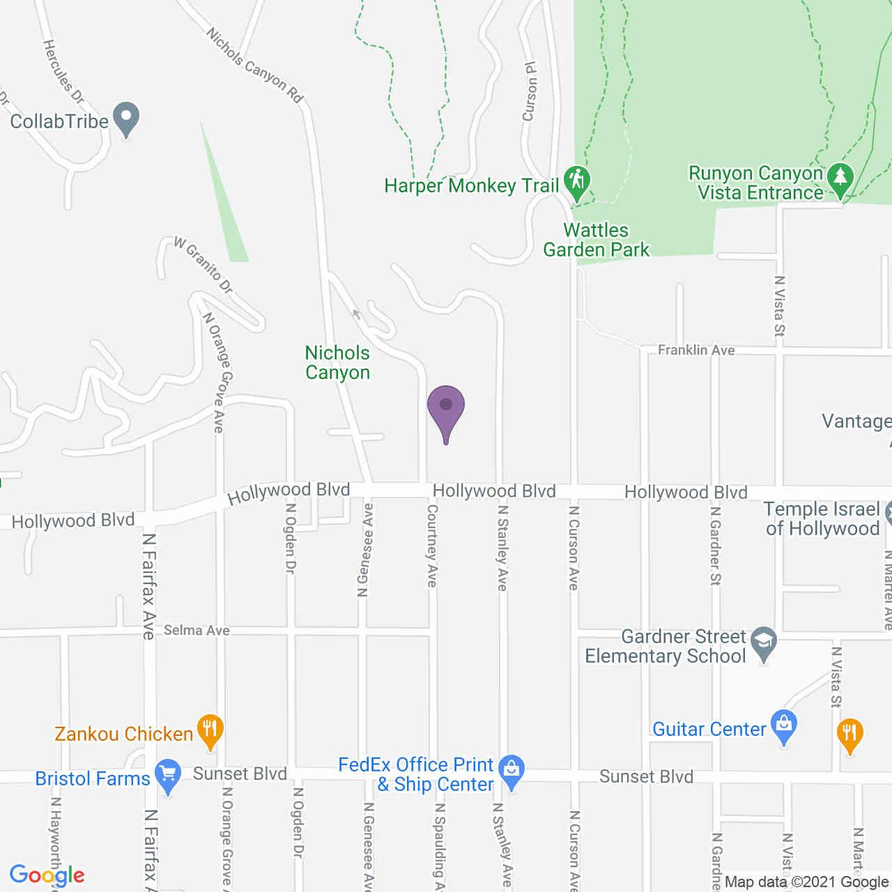 1716 Courtney Avenue, Los Angeles, CA, 90046,