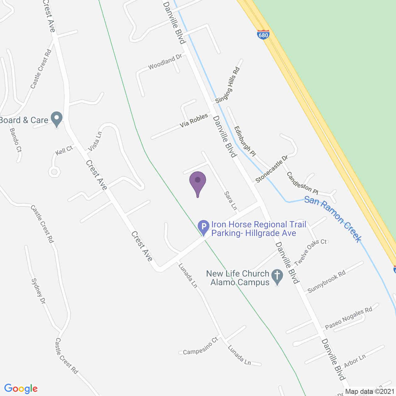 1538 Hillgrade Ave, Alamo, CA, 94507,