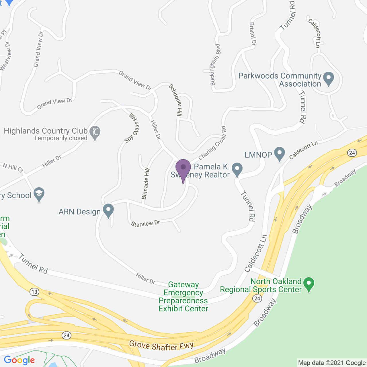 410 Hiller Dr, Oakland, CA, 94618,