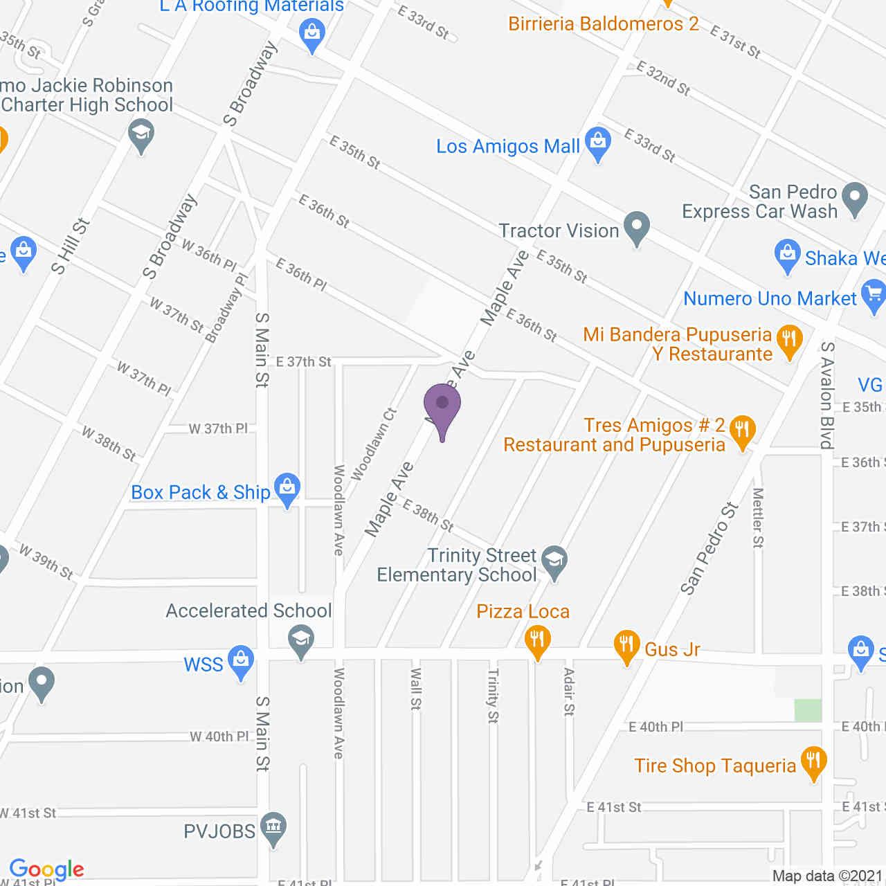 3736 Maple Avenue, Los Angeles, CA, 90011,