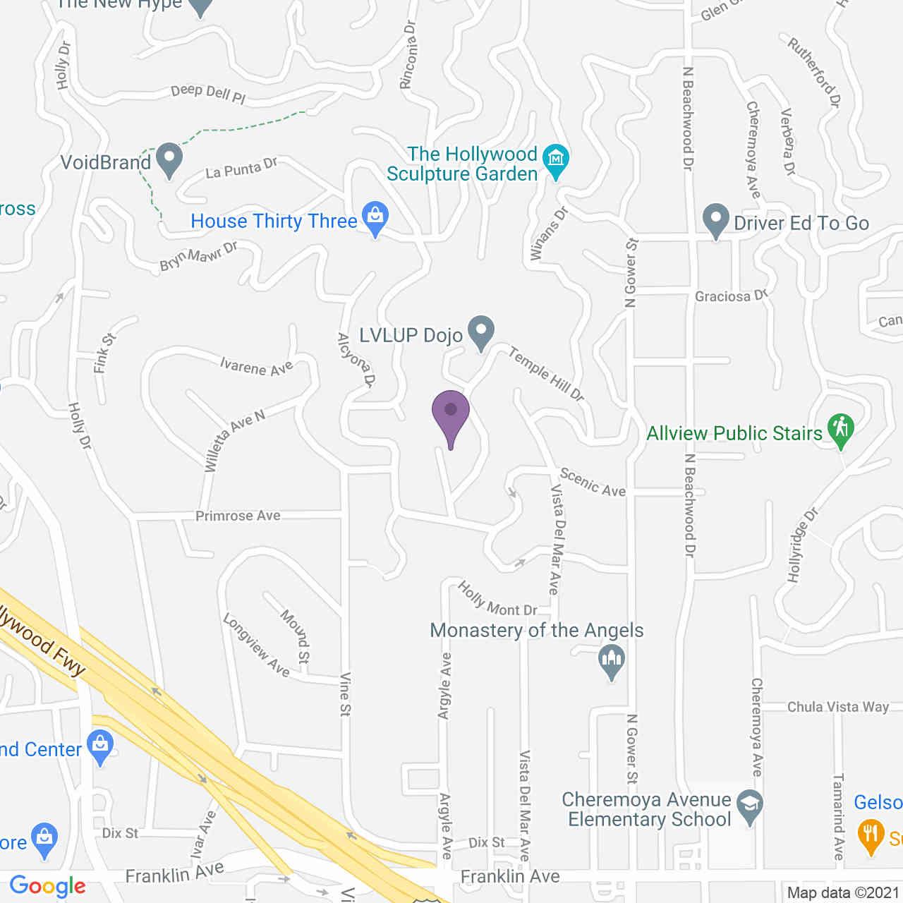 2182 Argyle Avenue, Los Angeles, CA, 90068,