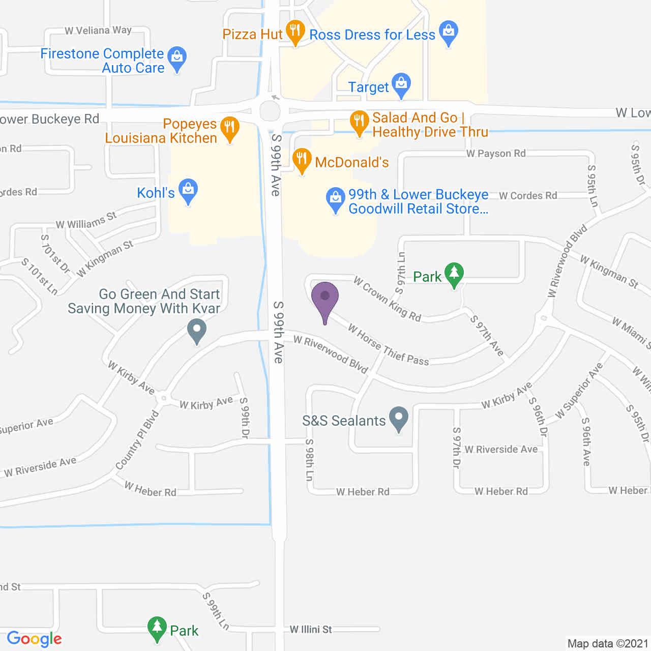 9829 W HORSE THIEF Pass, Tolleson, AZ, 85353,