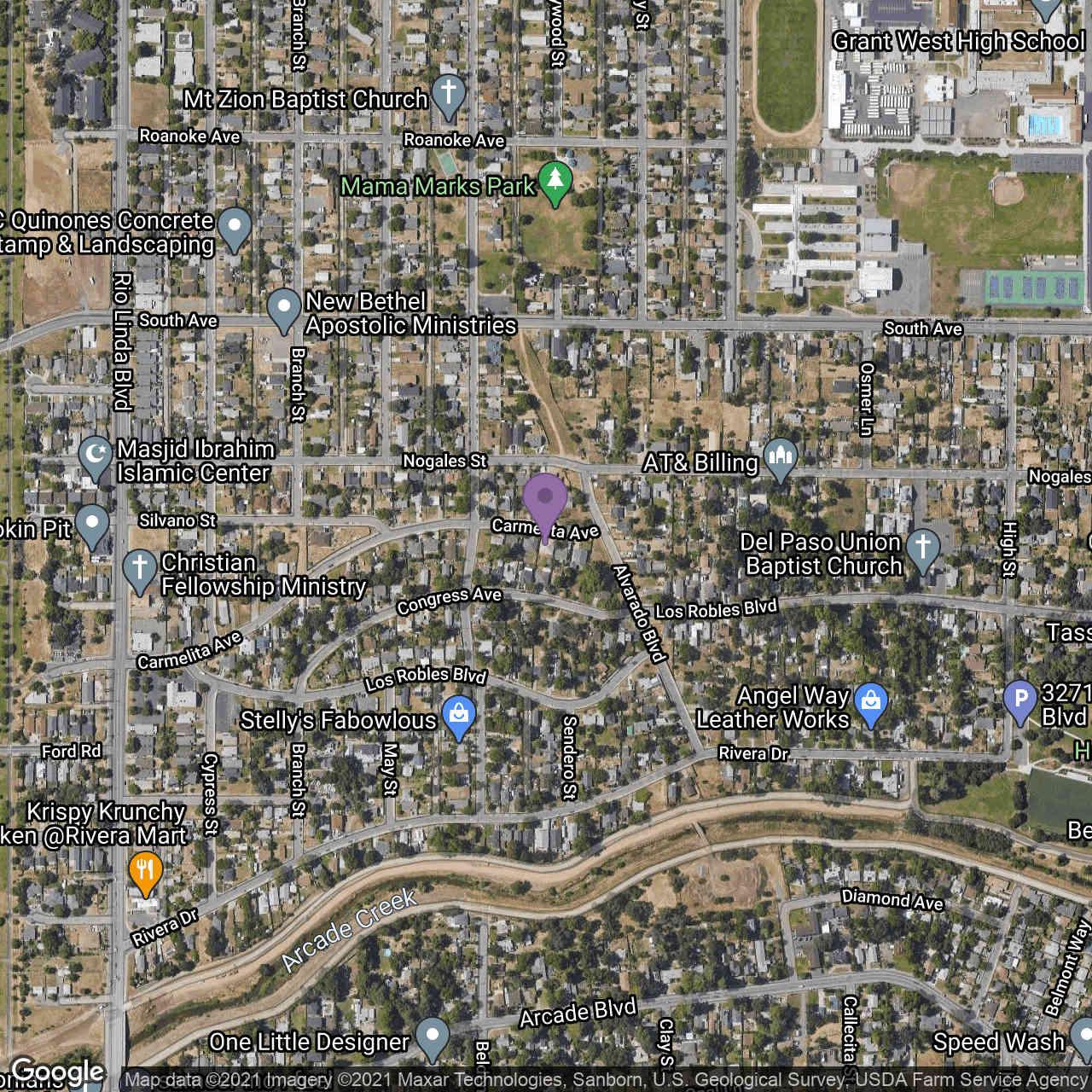 1116 Carmelita Avenue, Sacramento, CA, 95838,