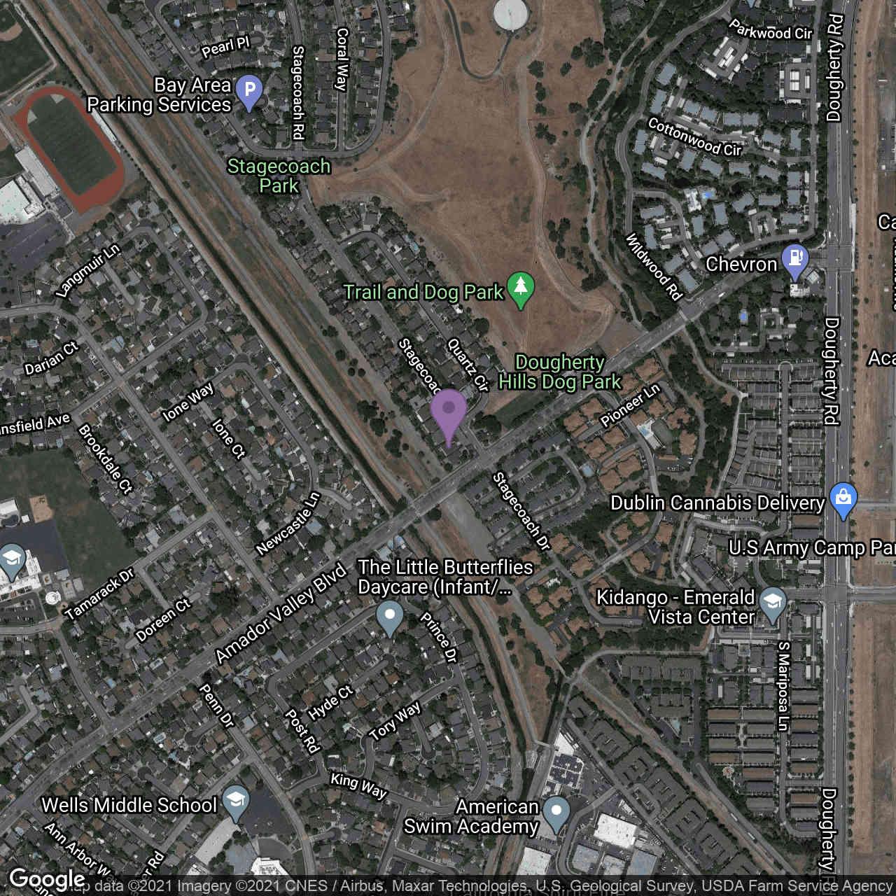 Undisclosed Address, Dublin, CA, 94568,
