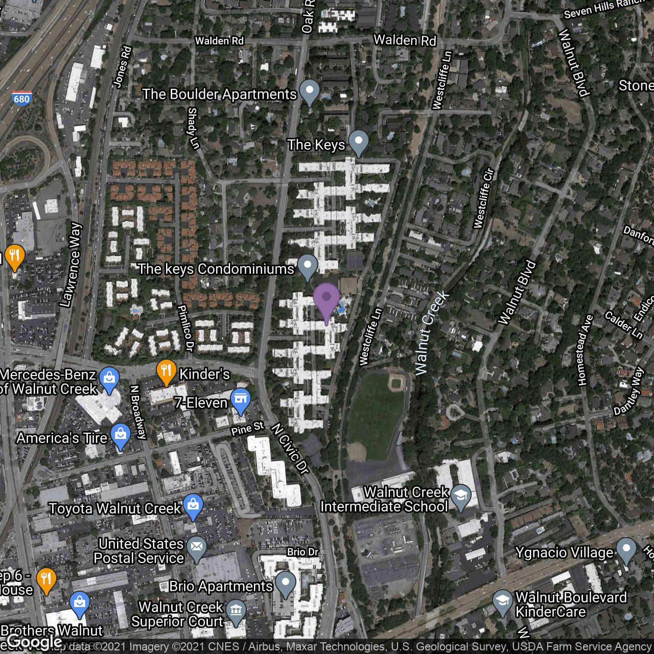 360 North Civic Dr #306, Walnut Creek, CA, 94596,