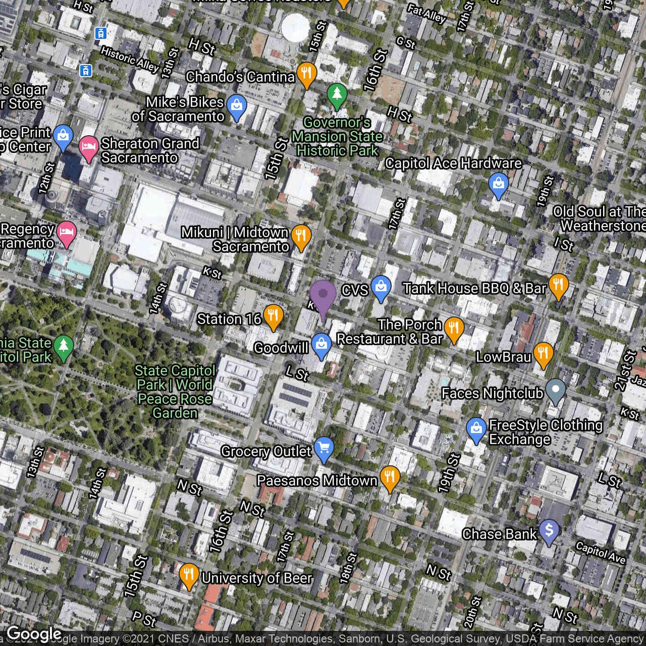1614 K Street, Sacramento, CA, 95814,