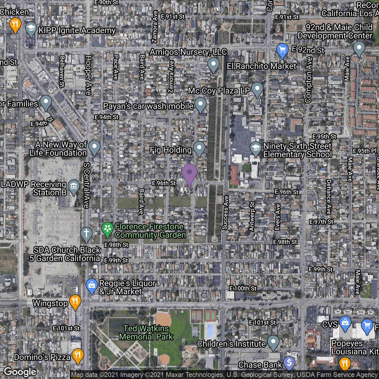 1370 E 96 Street, Los Angeles, CA, 90002,