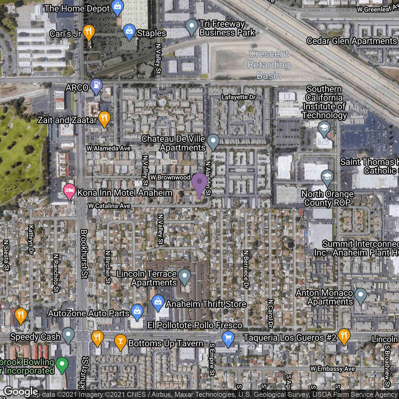 323 N Aladdin Drive, Anaheim, CA, 92801,