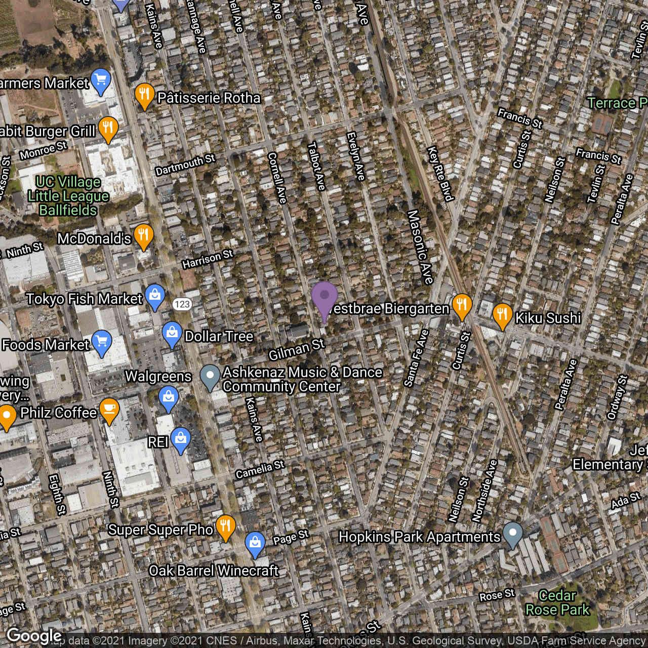 Undisclosed Address, Berkeley, CA, 94706,