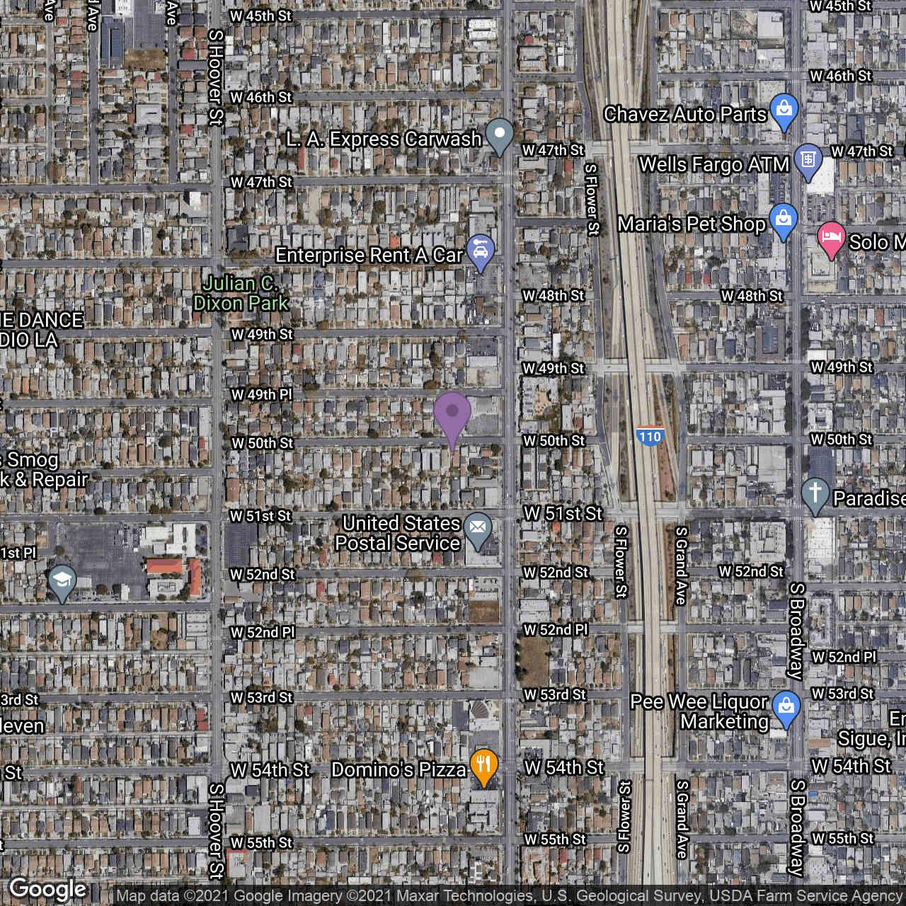 520 W 50th Street, Los Angeles, CA, 90037,