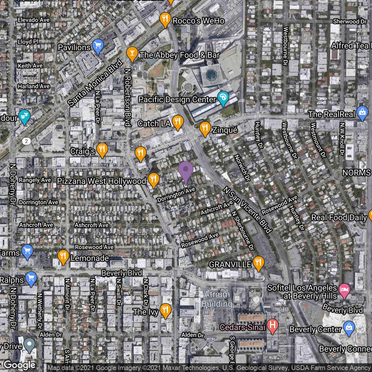 8731 Dorrington Ave Avenue, West Hollywood, CA, 90069,