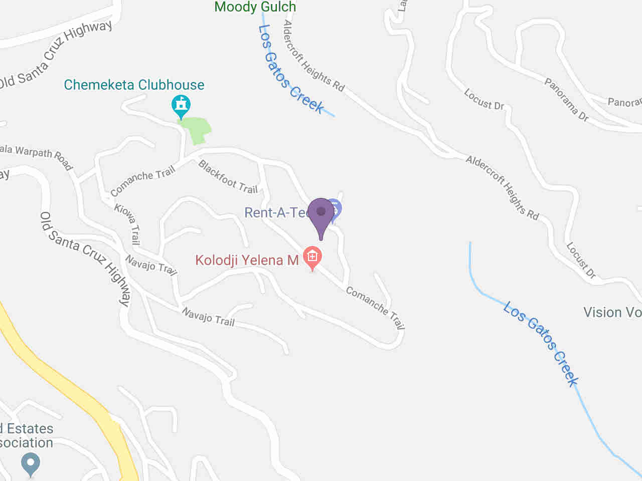 Location:, 20915 Comanche TRL Los Gatos, CA, 95033