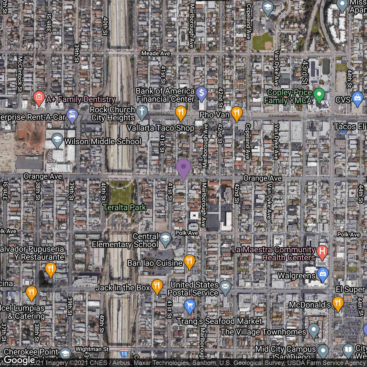 4119 Orange Avenue, San Diego, CA, 92105,