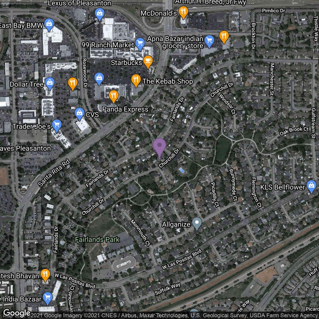 4129 Churchill Dr, Pleasanton, CA, 94588,