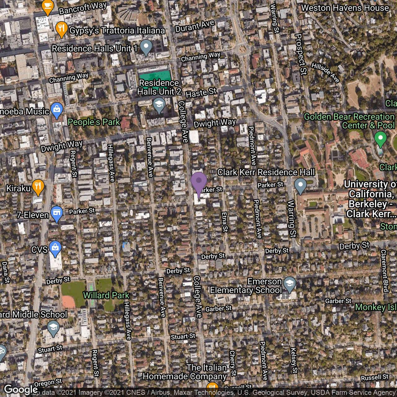 2601 College Ave #210, Berkeley, CA, 94704,