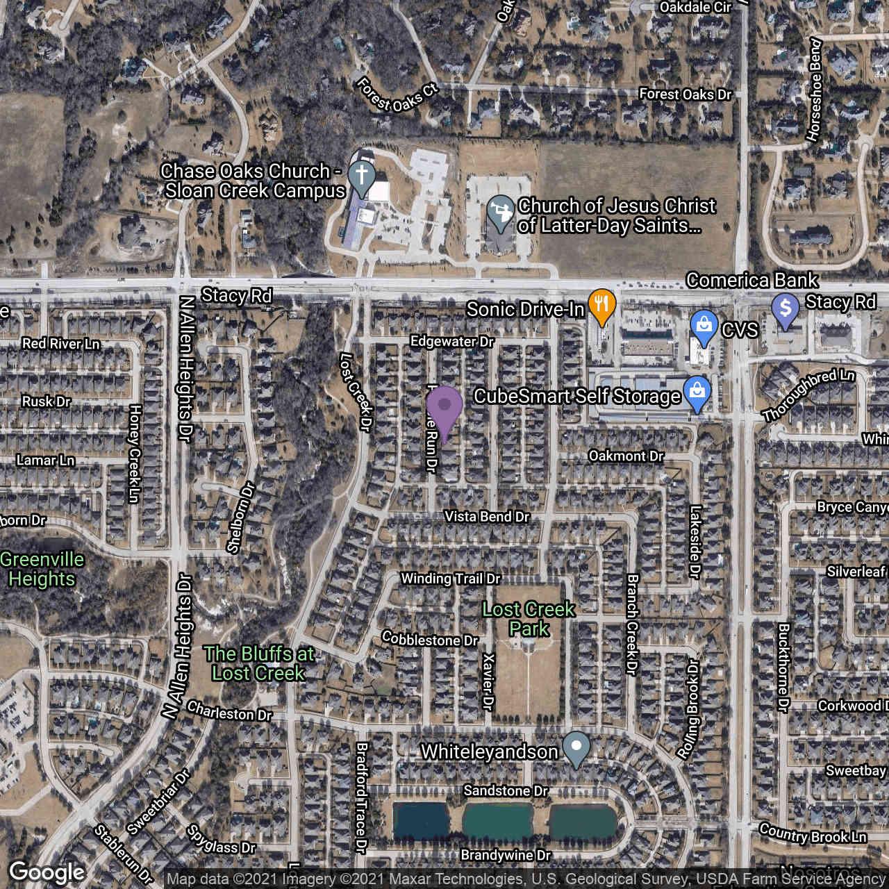 1708 Pebble Run Drive, Allen, TX, 75002,