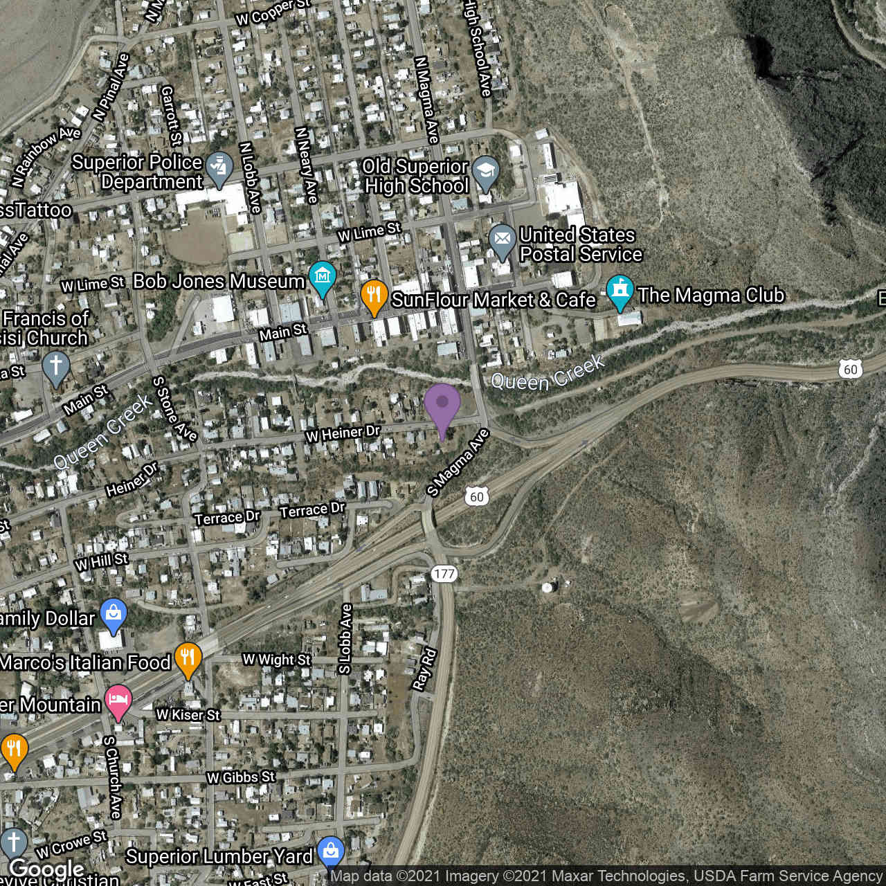 207 W Heiner Drive, Superior, AZ, 85173,