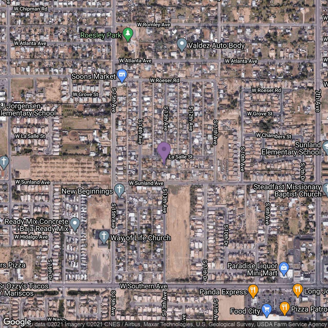 1201 W LA SALLE Street, Phoenix, AZ, 85041,