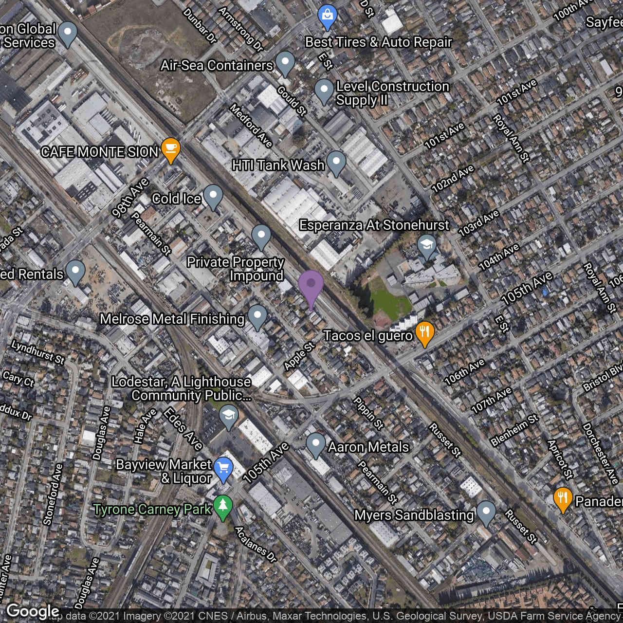 10305 San Leandro St., Oakland, CA, 94603,
