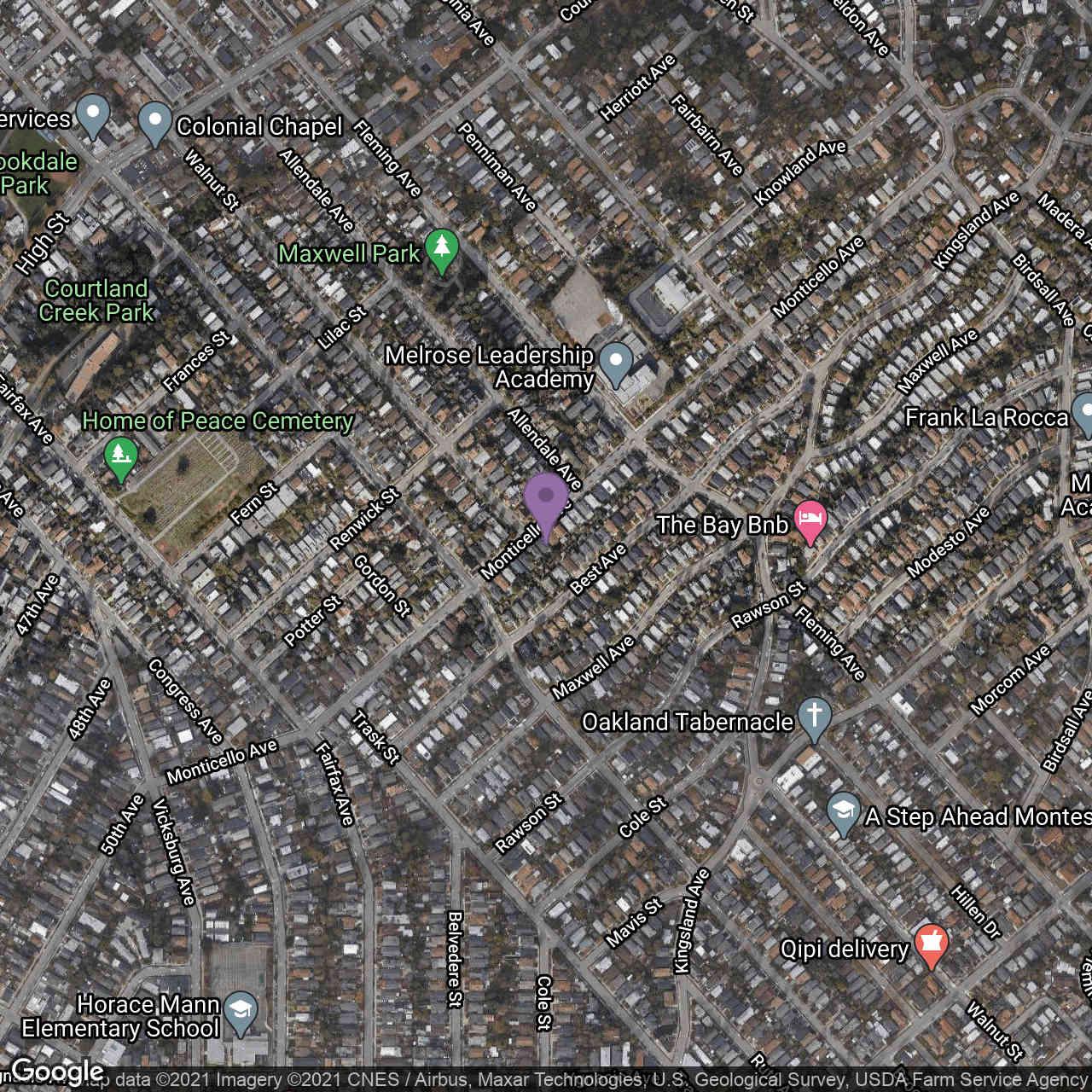 2636 Monticello Ave, Oakland, CA, 94619,